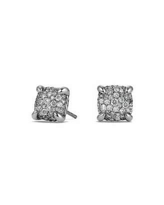 David Yurman 9mm Châtelaine Diamond Mosaic Earrings