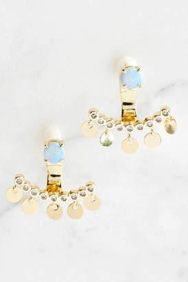 Melinda Maria Julian Ear Jacket Earrings