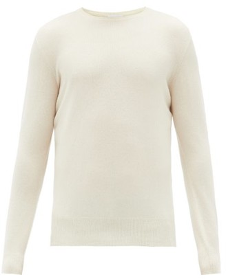 Raey Crew Neck Cashmere Sweater - Mens - Ivory