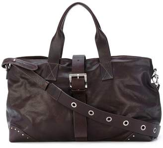 P.A.R.O.S.H. studded buckle tote bag