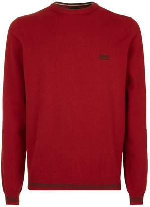 BOSS GREEN Crew Neck Sweater