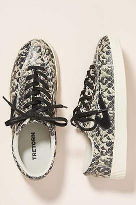 Tretorn Nylite Snake-Printed Sneakers