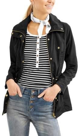 JASON MAXWELL Women's Poly Memory Anorak Jacket