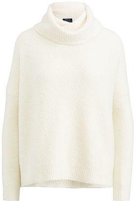 Polo Ralph Lauren Cashmere Turtleneck Sweater $498 thestylecure.com