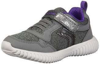Geox Girl's Waviness Sneaker,32 EU/