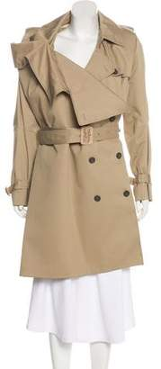 Maison Margiela Draped Trench Coat