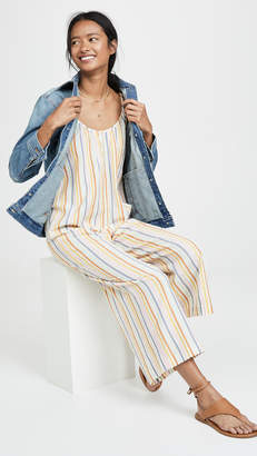 Madewell Tie Shoulder Jumpsuit