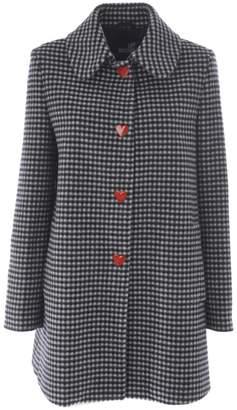 Love Moschino (ラブ モスキーノ) - Love Moschino Vichy Single-breasted Coat
