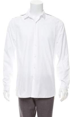 The Kooples Fitted Pointed Collar Shirt