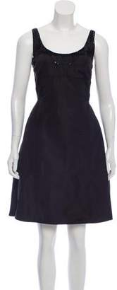 Narciso Rodriguez Silk Evening Dress