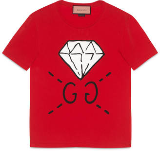 GucciGhost GG Diamond t-shirt $450 thestylecure.com