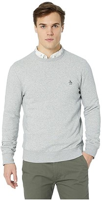 Original Penguin Long Sleeve Fleece Crew
