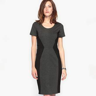 Anne Weyburn Milano Knit Dress with Slimming Effect