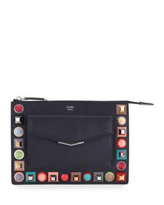 Fendi Mini Studded Crossbody Pouch $1,050 thestylecure.com