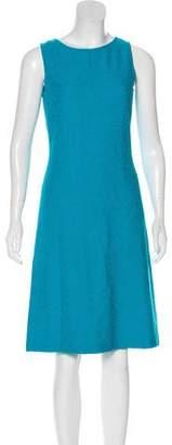 St. John Wool Sleeveless Dress