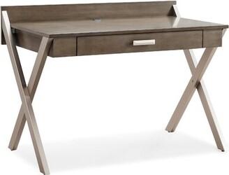 Wrought Studio Aubin X-Leg Mixed Laptop Desk Wrought Studio