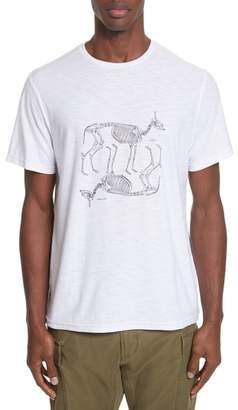 Ovadia & Sons Animal Skeleton Graphic T-Shirt