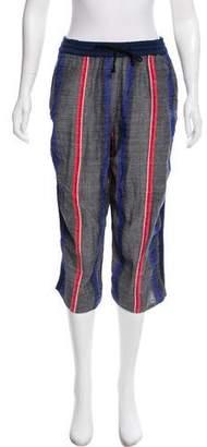 Lemlem Cropped High-Rise Pants