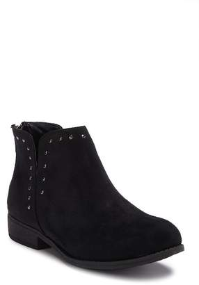 Dr. Scholl's Lucia Faux Suede Studded Bootie (Little Kid & Big Kid)