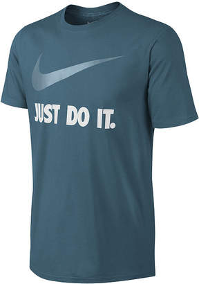 Nike Just Do It Graphic Moisture Wicking Short Sleeve Tee