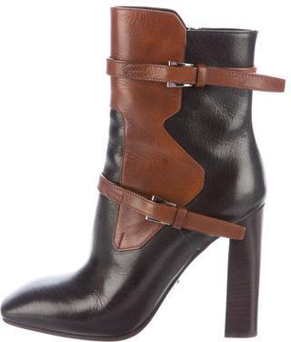 pradaPrada Colorblock Ankle Boots