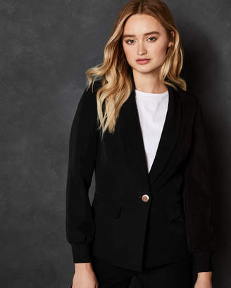 Ted Baker MMARGO Ribbed cuff tailored blazer