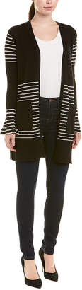 InCashmere Bell-Sleeve Cashmere Cardigan