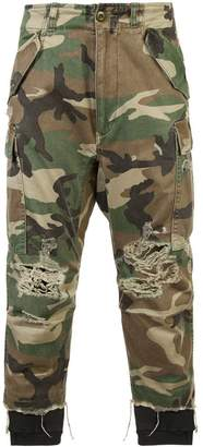 R 13 camouflage trousers