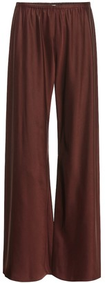 The Row Gala high-rise palazzo pants