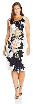 Single Dress Women's Plus Size Sleeveless Body-Con $57.87 thestylecure.com