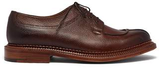 Grenson Percy apron leather derby shoes