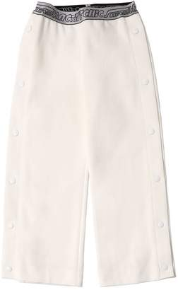Simonetta Triacetate Pants W/ Side Snap Buttons