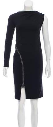Tom Ford Zipper-Accented Bodycon Dress
