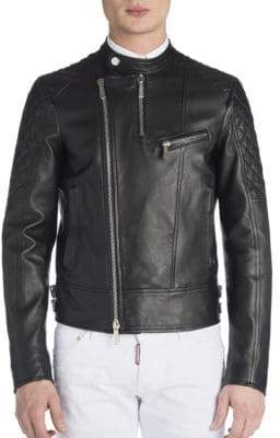 Viktor & Rolf Leather Biker Jacket