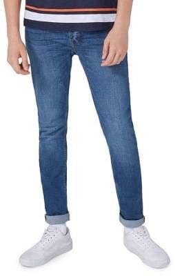 Topman Wash Stretch Skinny Jeans