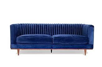 Mid-Century MODERN Edloe Finch 3S003 Velvet Sofas