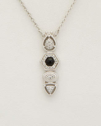 Judith Ripka Silver 0.34 Ct. Tw. Gemstone Necklace