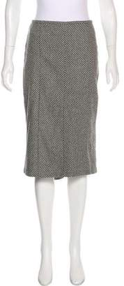 Jaeger Wool Knee-Length Skirt