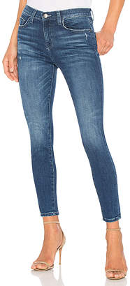 Current/Elliott The Super High Waist Ankle Skinny $218 thestylecure.com