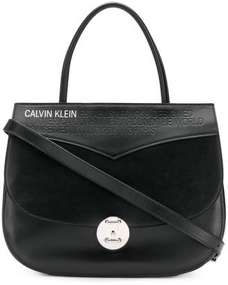 Calvin Klein wide shoulder bag