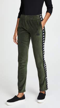 Kappa Melody Velour Snap Pants