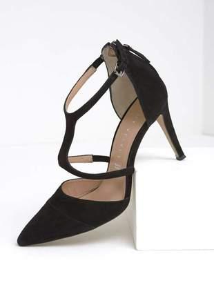 Mint Velvet Leoni Black T Bar High Heel