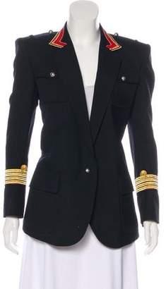 Balmain Embroidered Military Jacket