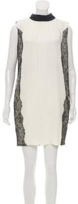 Dolce & Gabbana Lace Silk Dress
