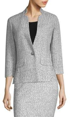 St. John Olivia Boucle-Knit Jacket