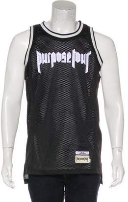 Barneys New York Barney's New York x Purpose Tour Graphic Basketball Tank Top w/ Tags
