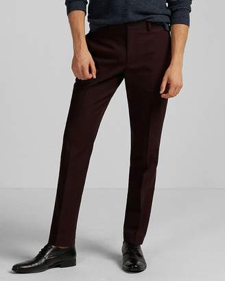 Express Extra Slim Burgundy Dress Pant