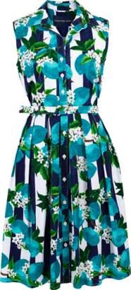 Samantha Sung Sleeveless Audrey Shirt Dress