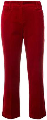 Cambio cropped straight-leg trousers