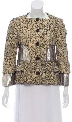 Proenza Schouler Embroidered Wool-Blend Jacket
